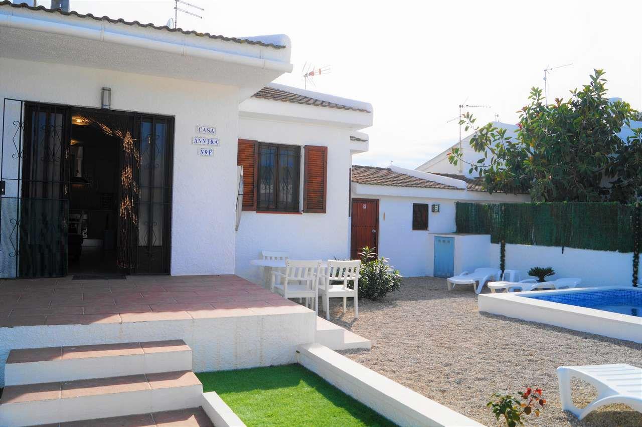 Chalet Annika. Vermietung von Chalets, Häusern, Wohnungen und Appartments in Riumar, Deltebre, Ebrodelta - 12